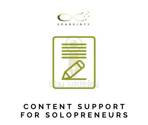 Content Support for solopreneurs